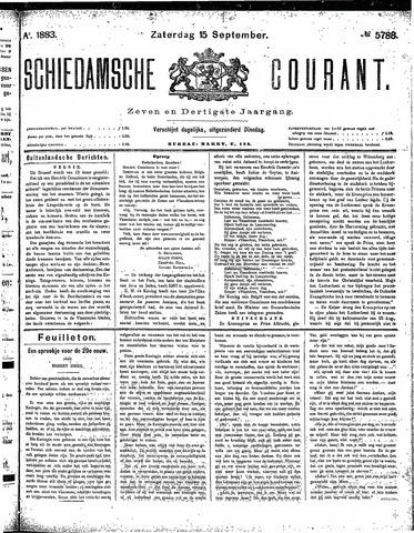 Schiedamsche Courant 1883-09-15