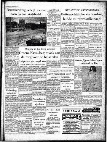 Rotterdamsch Parool / De Schiedammer 1962-09-19