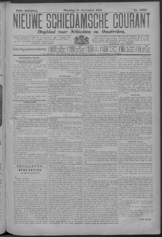Nieuwe Schiedamsche Courant 1918-11-12