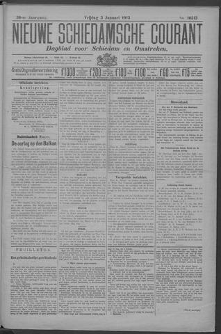 Nieuwe Schiedamsche Courant 1913-01-03