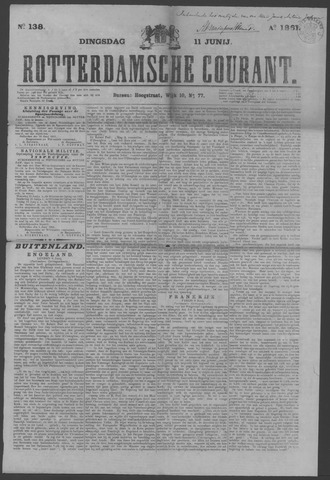 Rotterdamse Courant 1861-06-11