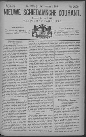 Nieuwe Schiedamsche Courant 1886-11-03