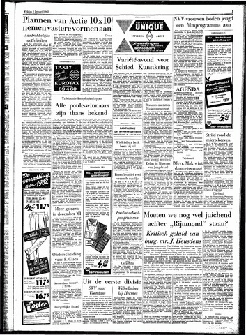 Rotterdamsch Parool / De Schiedammer 1962-01-05
