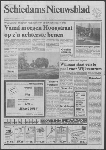 Schiedams Nieuwsblad 1979-04-04
