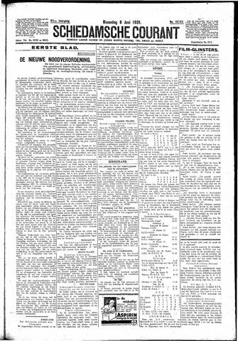 Schiedamsche Courant 1931-06-08