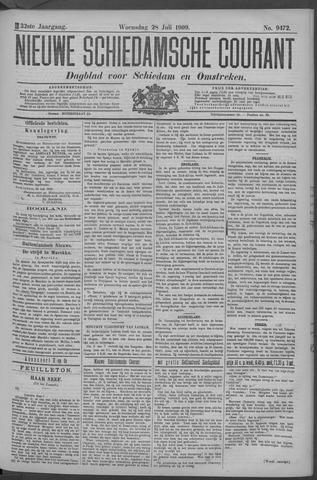 Nieuwe Schiedamsche Courant 1909-07-28