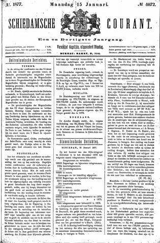 Schiedamsche Courant 1877-01-15