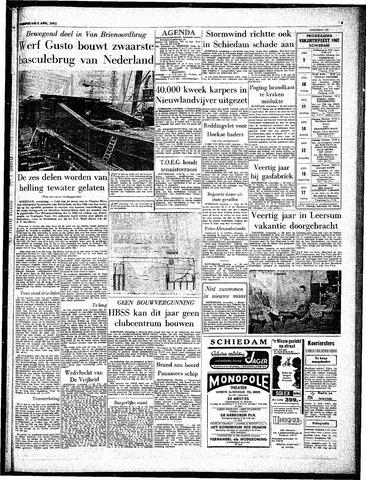 Rotterdamsch Parool / De Schiedammer 1962-08-08