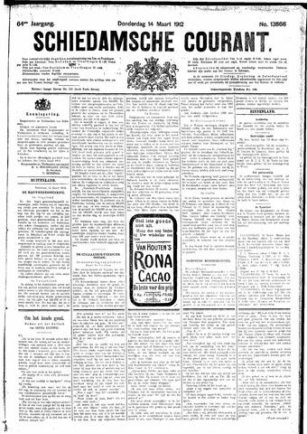 Schiedamsche Courant 1912-03-14