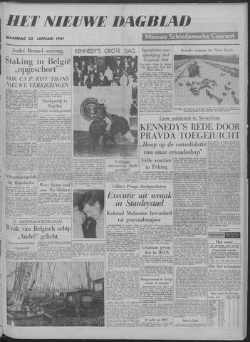 Nieuwe Schiedamsche Courant 1961-01-23
