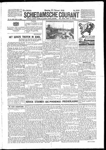 Schiedamsche Courant 1933-02-21