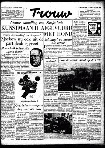 Trouw / De Rotterdammer 1957-11-04