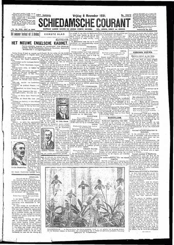 Schiedamsche Courant 1931-11-06