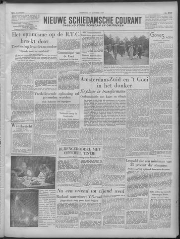 Nieuwe Schiedamsche Courant 1949-10-19