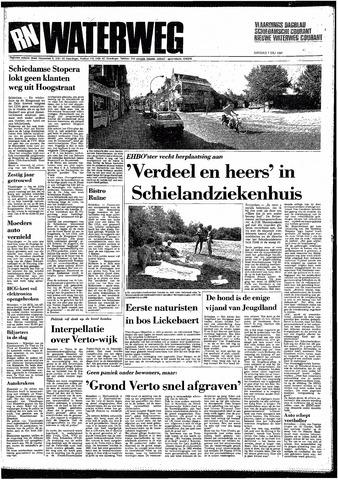 Rotterdamsch Nieuwsblad / Schiedamsche Courant / Rotterdams Dagblad / Waterweg / Algemeen Dagblad 1987-07-07