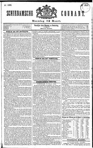 Schiedamsche Courant 1866-03-12