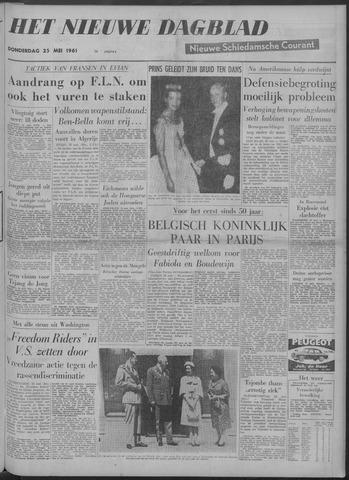 Nieuwe Schiedamsche Courant 1961-05-25