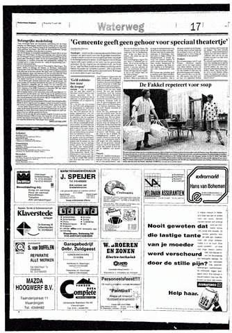 Rotterdamsch Nieuwsblad / Schiedamsche Courant / Rotterdams Dagblad / Waterweg / Algemeen Dagblad 1993-03-17