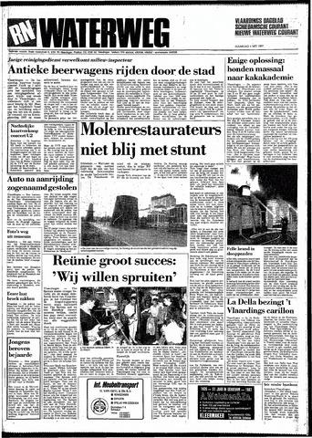 Rotterdamsch Nieuwsblad / Schiedamsche Courant / Rotterdams Dagblad / Waterweg / Algemeen Dagblad 1987-05-04