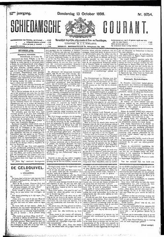 Schiedamsche Courant 1898-10-13