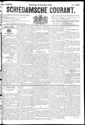 Schiedamsche Courant 1908-11-04