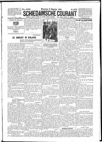 Schiedamsche Courant 1933-08-09
