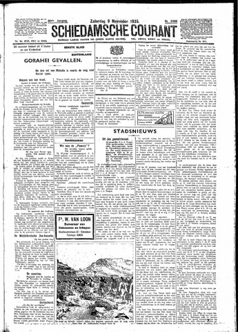 Schiedamsche Courant 1935-11-09