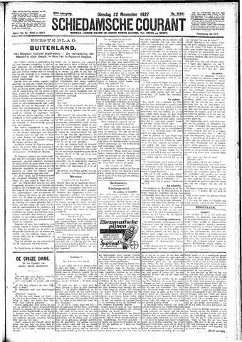 Schiedamsche Courant 1927-11-22