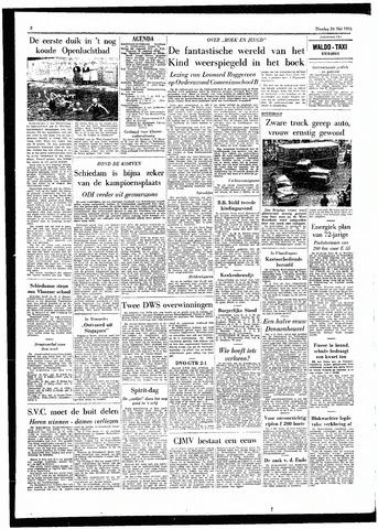 Rotterdamsch Parool / De Schiedammer 1955-05-24