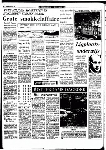 Rotterdamsch Parool / De Schiedammer 1966-04-27