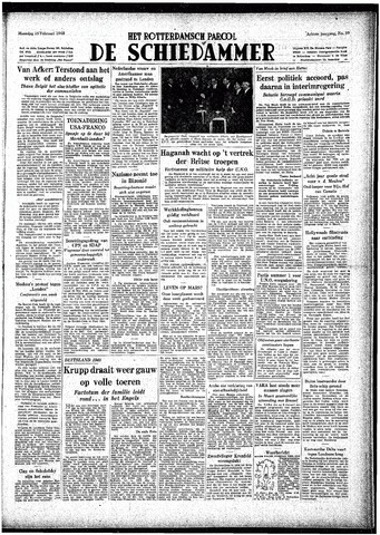 Rotterdamsch Parool / De Schiedammer 1948-02-16