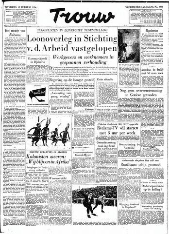 Trouw / De Rotterdammer 1956-02-11