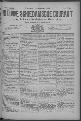 Nieuwe Schiedamsche Courant 1901-12-25