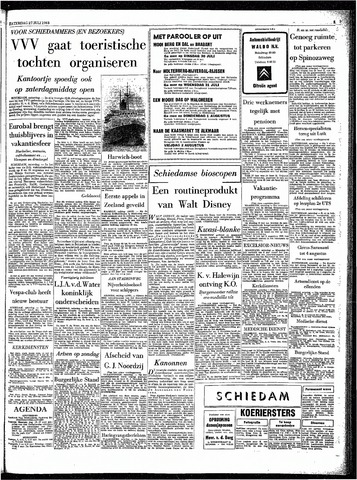 Rotterdamsch Parool / De Schiedammer 1963-07-27