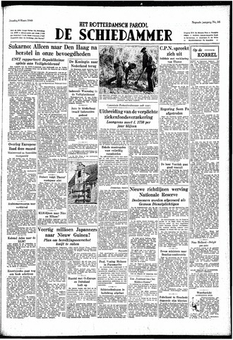 Rotterdamsch Parool / De Schiedammer 1949-03-08