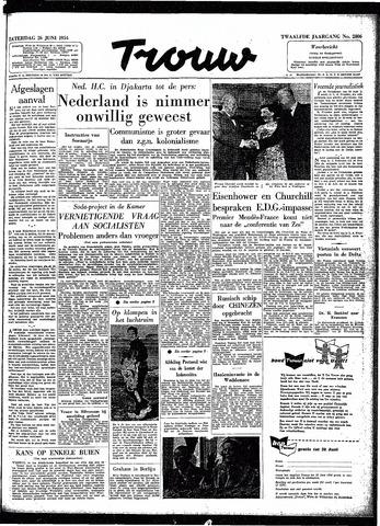 Trouw / De Rotterdammer 1954-06-26