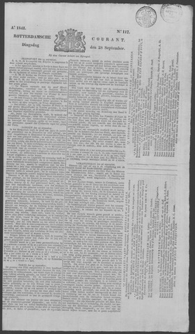Rotterdamse Courant 1841-09-28