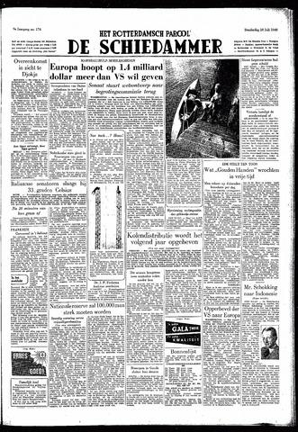Rotterdamsch Parool / De Schiedammer 1949-07-28