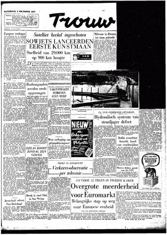 Trouw / De Rotterdammer 1957-10-05