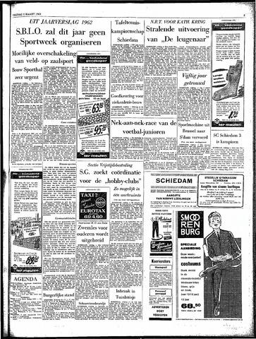 Rotterdamsch Parool / De Schiedammer 1963-03-01