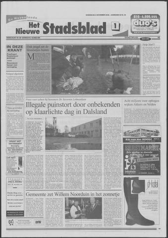 Het Nieuwe Stadsblad 2000-11-08
