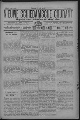 Nieuwe Schiedamsche Courant 1913-07-08