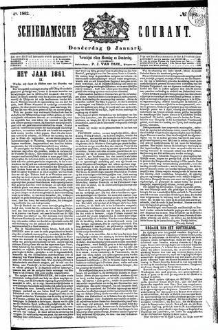 Schiedamsche Courant 1862-01-09