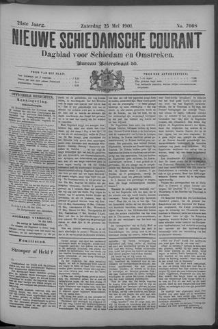 Nieuwe Schiedamsche Courant 1901-05-25