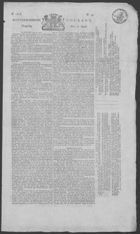 Rotterdamse Courant 1826-04-25