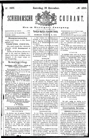 Schiedamsche Courant 1877-12-29
