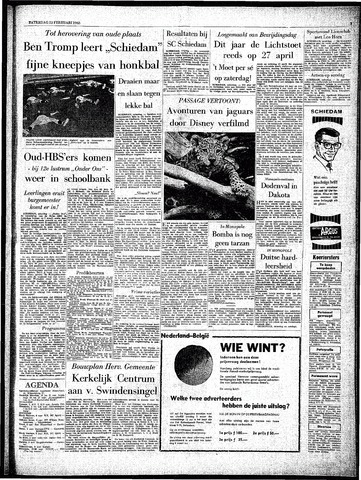 Rotterdamsch Parool / De Schiedammer 1963-02-23