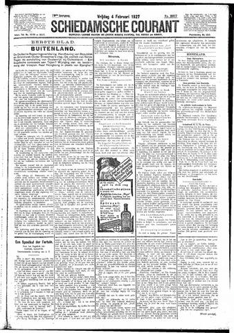Schiedamsche Courant 1927-02-04