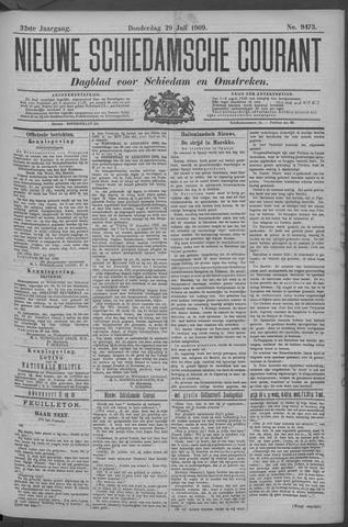Nieuwe Schiedamsche Courant 1909-07-29