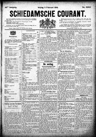 Schiedamsche Courant 1916-02-11